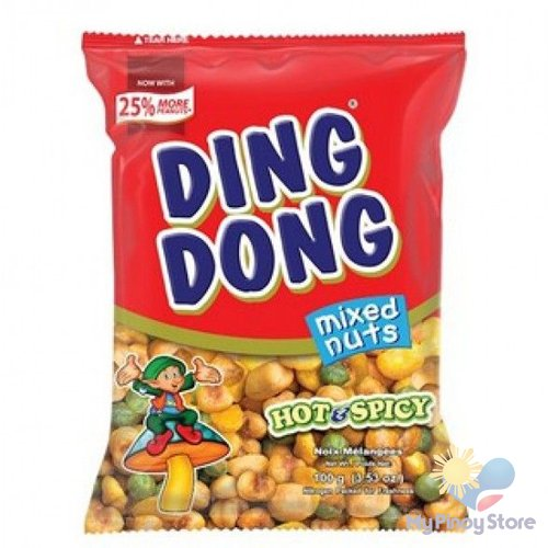 Ding dong super mix Hot & Spicy 100 g - JBC Food