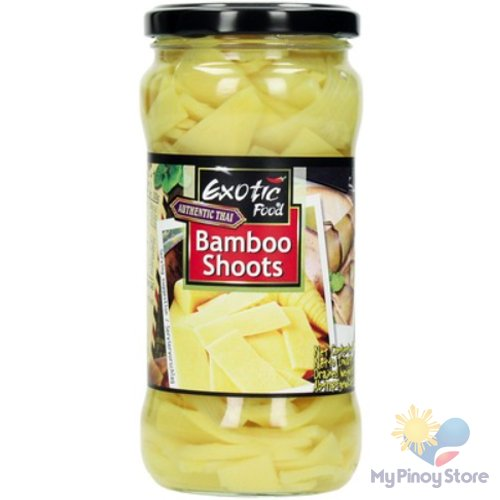 Bamboo Shoots (slices) in a jar 330 g - Exotic food