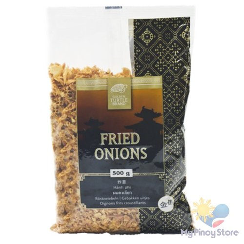 Fried Onions 500 g - Golden Turtle