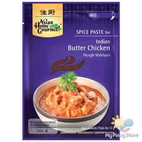 Indian Butter Chicken spice paste 50 g - Asian Home Gourmet