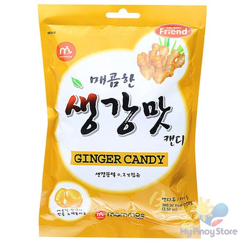 Ginger Candy 100 g - Mammos