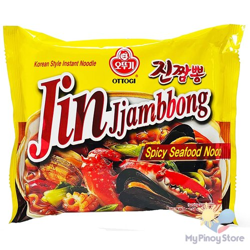 Korean Instant Spicy Seafood Noodles 130 g - Ottogi