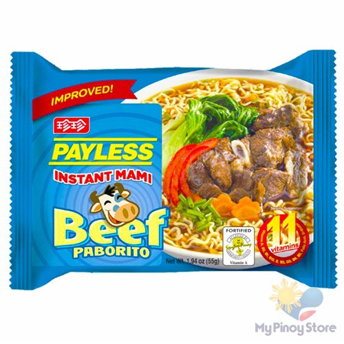 Instant mami Beef 55 g - Payless