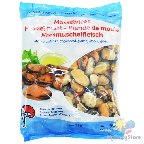 Chillean Mussel Meat Cooked 200/300 1 kg - Mooijer