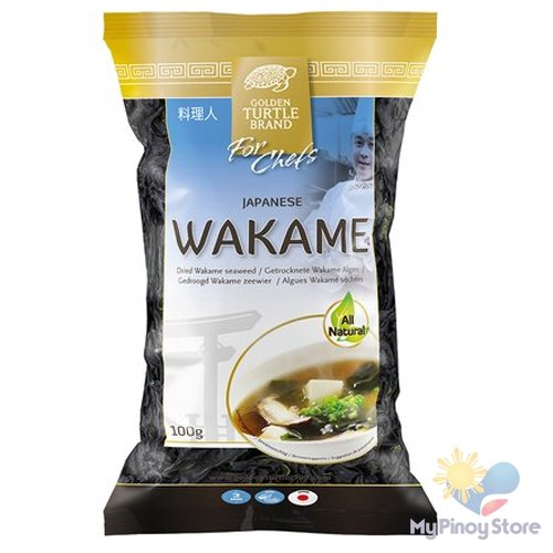 Dried Wakame seaweed 100 g - Golden Turtle