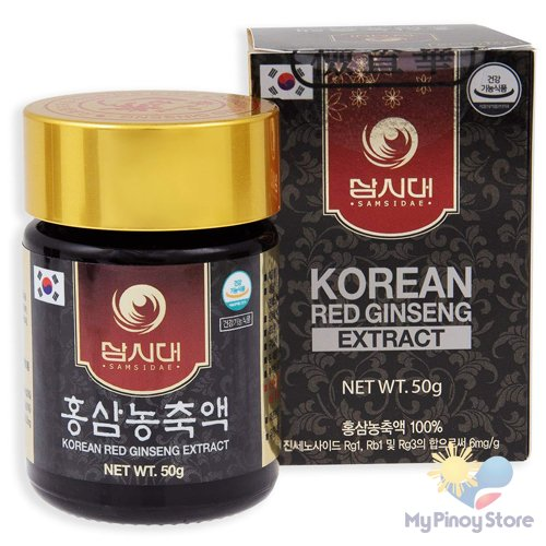Fermented Korean Red Ginseng Extract, Age 4-6 Years 50 g - Samsidae