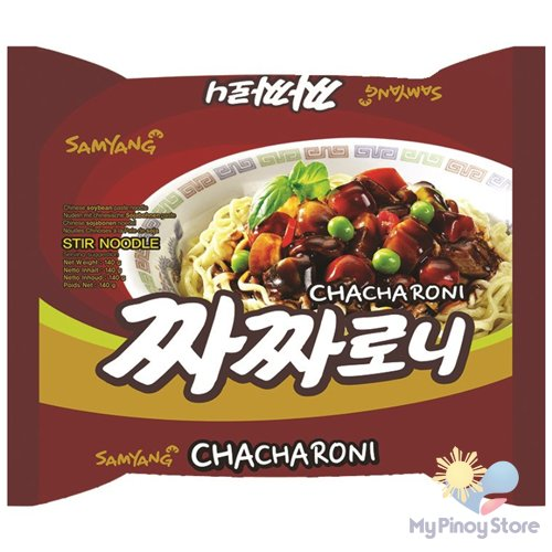 Chinese Noodles Chacharoni, Soybeans 140 g - Samyang