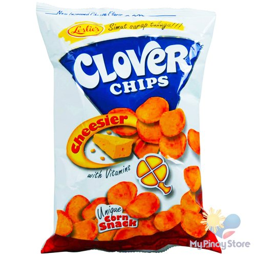 Clover chips, cheese 145 g - Leslie